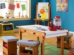 Kid Craft Room