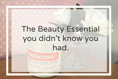 The beauty product you didn't know you had! I use Sudocrem once a week as a facepack to help reduce and calm blemishes.