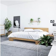 New minimalist bedroom furniture headboards Ideas Minimalist Home Interior, Minimalist Room, Minimalist Design, Modern Interior, Modern Decor, Rustic Modern, Modern Classic, Rustic Decor, Minimalist Apartment