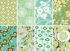 Amy Butler New Fabric: August Fields