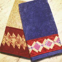 Técnica de Seminole - patchwork ... Adoro!