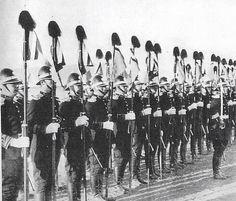 Honor guard of  Manchukuo in northeast China.
