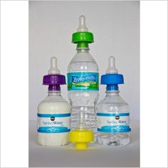 Make holiday travel fun for the whole family with smart products: Refresh-a-Baby bottled water nipples