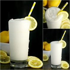 Frosted Lemonade is a dreamy way to enjoy a classic and delicious lemonade with a sweet twist. Tart, creamy, and cool this is the perfect summer drink!