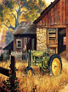 John Deere Painting