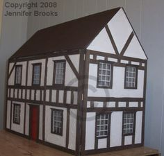 everything you need to build your own doll house...think would make some little girl great Christmas gift