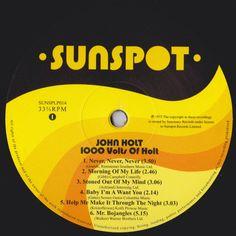 John Holt - One Thousand Volts Of Holt (Label)