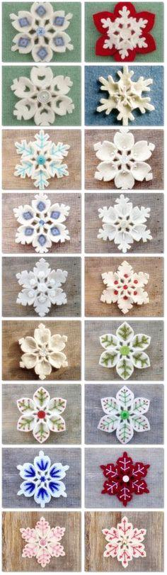 Bekijk de foto van DeniseStadman met als titel Vilten ijskristallen maken, met tutorial.  en andere inspirerende plaatjes op Welke.nl.