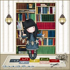 In The Library (Gorjuss) http://www.fromtheheartpostcards.com/MyPSPTags/sw-library.png