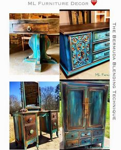 Hi! Thank you for looking at my post  I'm an interior dedigner and the creator of this fun and amazing technique I called Bermuda Blending.. I've done over the…