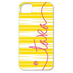 all things katie marie: Monogram Cell Phone Case