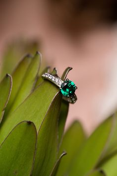 A fair trade and ethical wedding! Channel your inner Princess Kate with a gemstone engagement ring from @ftjco