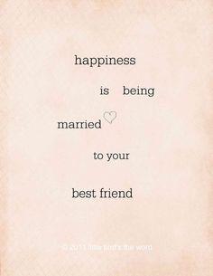 #Marry my best #friend