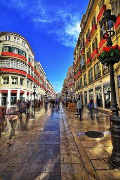 Calle Larios, la más elegante de Málaga Foto: Livio T.