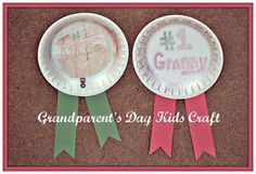 Grandparent's Day Kids Craft so doing this for grandparents day this weekend!