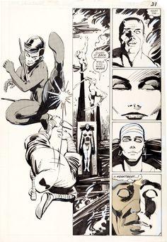 Daredevil n°190, Page 31 by Frank Miller & Klaus Janson.