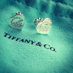 Tiffany earrings.