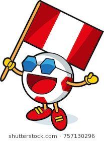 peru soccer ball mascot