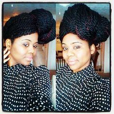 senegalese twist hairstyle
