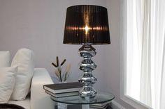 Stolné lampy : Stolná lampa Milly čierna