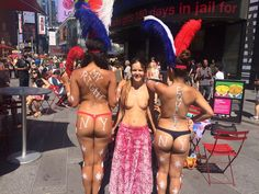 The Desnudas: NYC's Manufactured Controversy Over Painted Boobs
