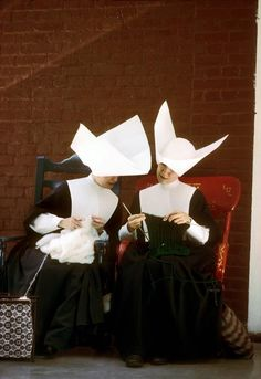 Knitting Nuns.