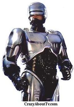 Robocop--A great movie to watch the night before a big exam.  Nothing stops him!!