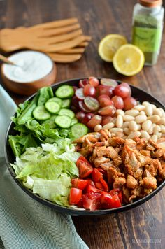Slimming Eats Tuscan Chicken Salad - gluten free, Slimming World and Weight Watchers friendly Slimming Eats, Slimming World Recipes, New Recipes, Healthy Recipes, Lunch Recipes, My Diet Plan, Clean Eating, Healthy Eating, Healthy Food