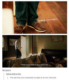 What makes John Watson the best friend ever.
