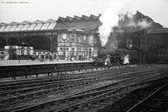 Down the decades: A look at how Victoria Station has changed over the years - Manchester Evening News Nostalgic Images, Steam Railway, British Rail, Local History, Old Pictures, Historical Photos, Railroad Tracks, Over The Years, Manchester