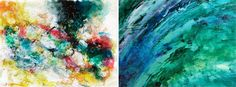 abstrato aquarela e a óleo- post pinturas/ watercolor abstract and oil - post about paintings