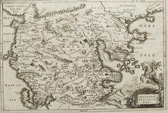1740s Antique Print - Map of Regions Tessaglia Macedonia Epirus - Greece via Grandpa's Market. Click on the image to see more!