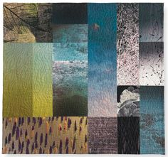 Aubade (to the last) by Michael James. 2015 exhibit. IQSCM.