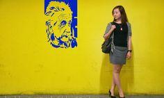 Einstein Portrait Wall Art Sticker Decal by BeaCreativeDesigner