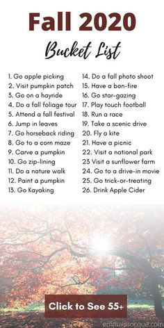 Here is the ultimate fall bucket list 2020! Autumn is one of my favorite seasons. There are so many new and fun activities to try out! Check out this fall bucket list for couples and for friends. #fallaesthetic #fallbucketlist #autumn2020 College Bucket List, Bucket List For Teens, Fall Bucket Lists, Bucket List Life, Girl College Dorms, College Fun, College Life, College Hacks, Fun Fall Activities