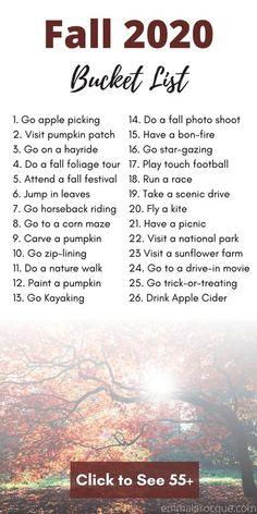 College Bucket List, Autumn Bucket List, Autumn To Do List, Summer Bucket, Herbst Bucket List, Halloween Bucket List, Fall Checklist, Cute Date Ideas, Fall Dates