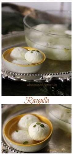 Rasgulla - perfect Indian dessert/sweets for summers
