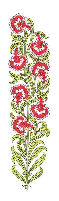 Henna Patterns, Textile Patterns, Textile Prints, Textile Design, Textiles, Print Patterns, Surface Pattern Design, Pattern Art, Islamic Motifs