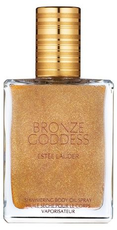 Shimmering body spray... because it's sunny somewhere!