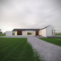 D-House, Kildare, by Architecture 537 [Render]