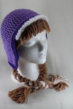 Princess Anna from Frozen Fan Art Crochet Hat | bethscraftshop - Crochet on ArtFire