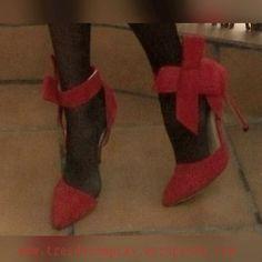 zapatos rojos lazo -001