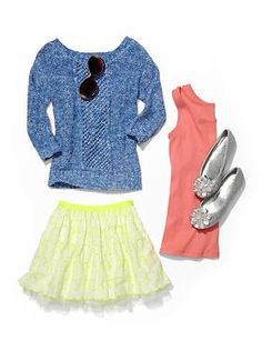 Kids Clothing: Girls Clothing: Outfits We ♥ New: Spring Break   Gap
