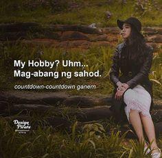 relate si ako eh Crush Quotes Tagalog, Bisaya Quotes, Tagalog Quotes Hugot Funny, Patama Quotes, Tagalog Love Quotes, Sarcasm Quotes, Funny Qoutes, Hurt Quotes, Sarcastic Humor