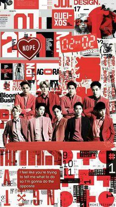 (left to right) kai - sehun - suho - xiumin bottom; (left to right) baekhyun - chanyeol - chen - d.o - lay Kpop Exo, Exo Chanyeol, K Pop, Exo Lucky One, Exo Lockscreen, Exo Ot12, Chanbaek, Exo Fan, Exo Memes