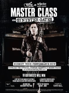 Synyster Gates Of Avenged Sevenfold Partners With Guitar Center And Schecter Guitars To Launch Master Class With Synyster Gates.