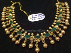 Latest Emeralds Uncuts Set 40gms - Jewellery Designs