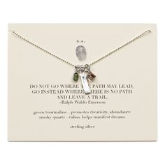 THE PATH NECKLACE | | UncommonGoods