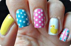 Royal baby nails!