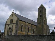Eglise Saint-Martin à Ver-sur-mer .